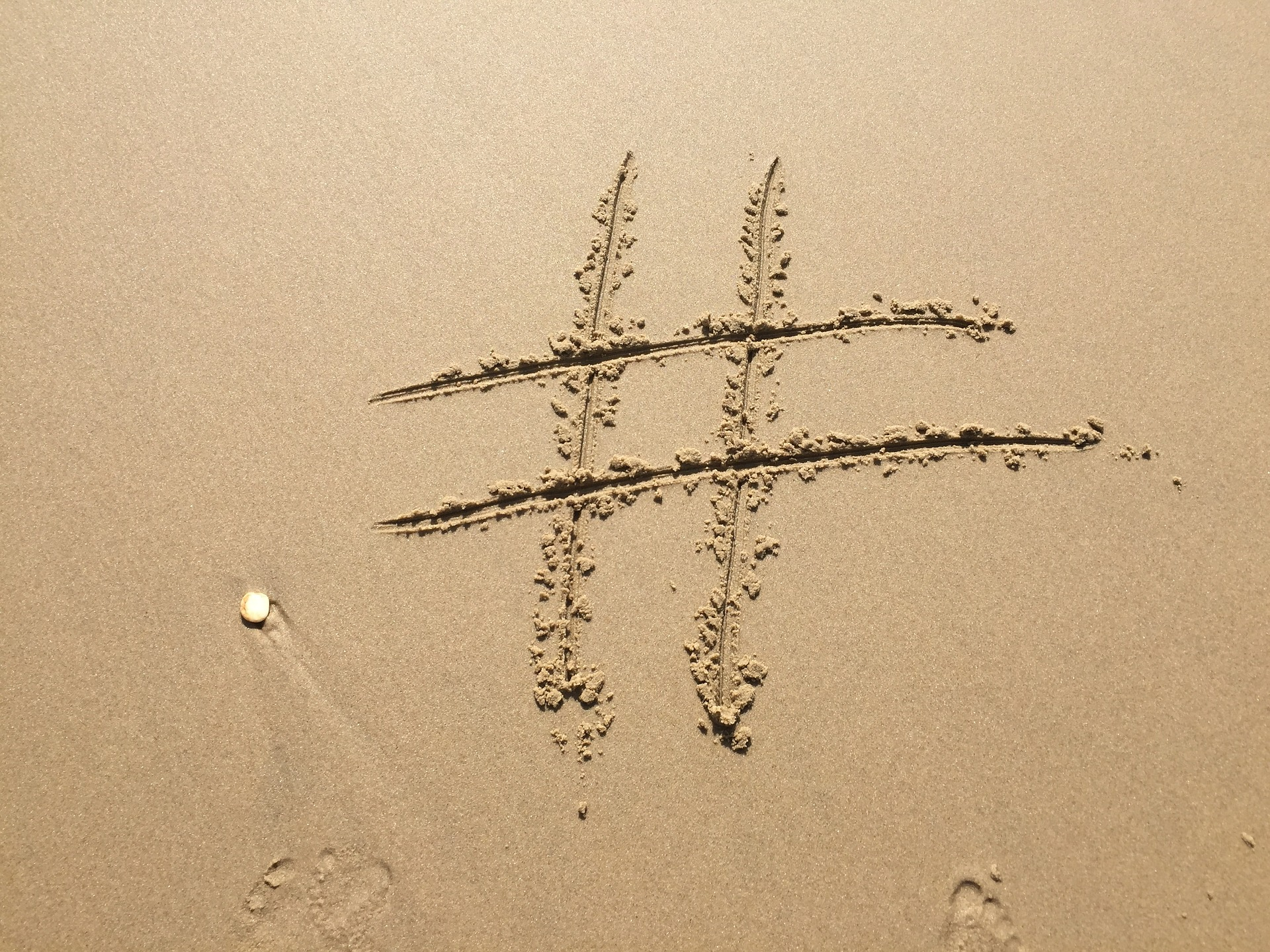 use of hashtags in Nigeria