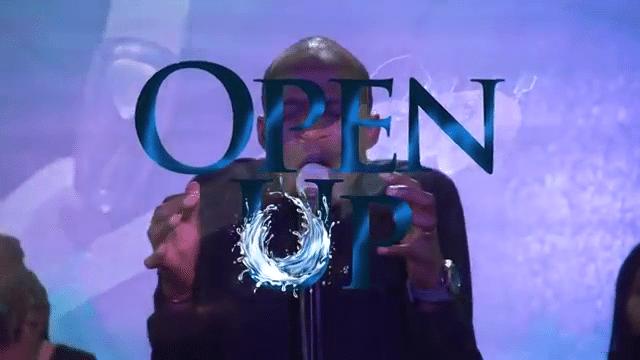 open up by Dunsin Oyekan