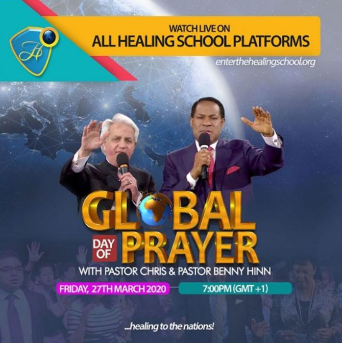 Global Prayer with Pastor Chris & Pastor Benny Hinn
